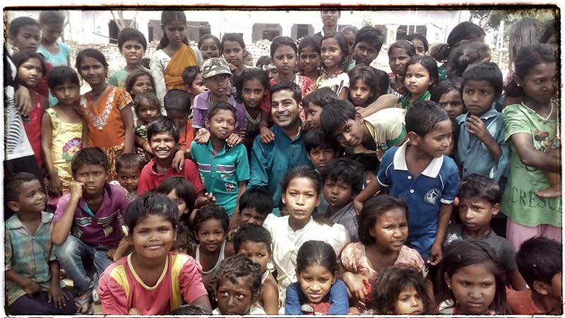 Niraj Gera Underprivileged Children